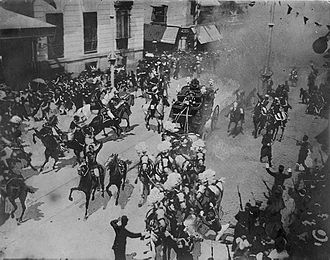 bombing at wedding procession of King Alfonso XIII of Spain
