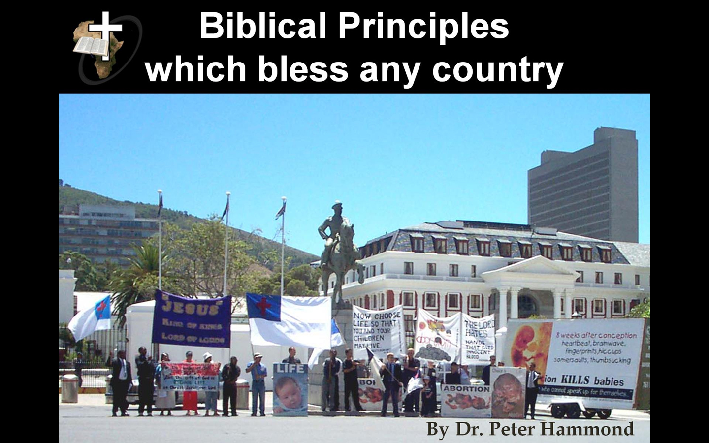Biblical Principles Which Bless any Nation