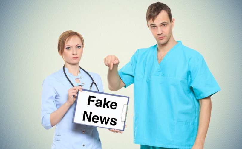 Doctors   fake news