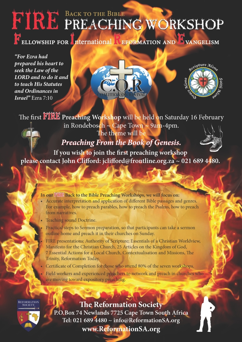 FIRE Preaching Workshop - Genesis Feb 2019 800px
