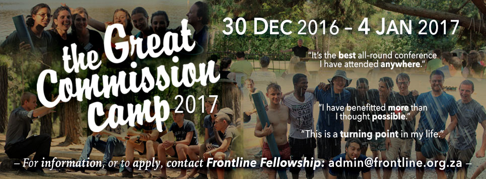 The Great Commission Camp 2017