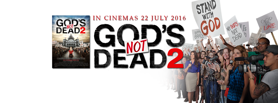 Gods Not Dead 2 movie Facebook banner