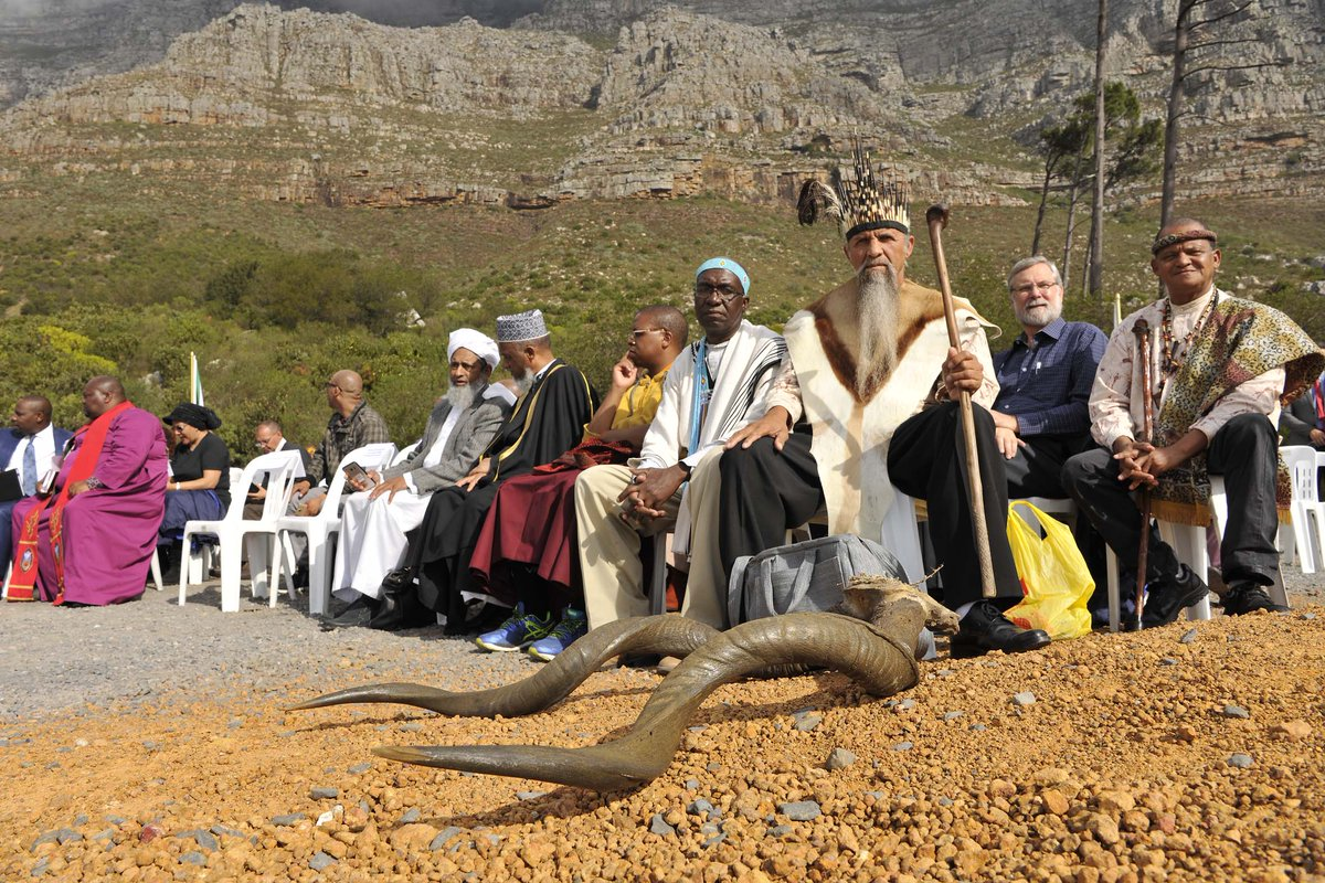 Religious Leaders on Table Mountain