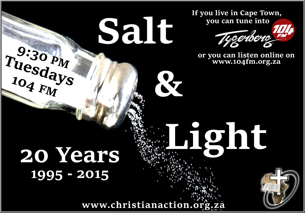 Salt and Light 20th Version 2
