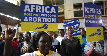 U.N. ATTEMPTS to PROMOTE ABORTION in AFRICA as a HEALTH CARE HUMAN RIGHT 3