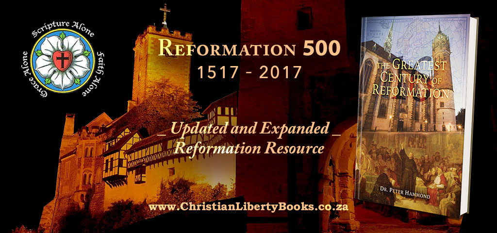 The Greatest Century of Reformation RE 2017